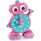 Learning Resources Tock The Learning Clock, Educational Talking Clock, Ages 3+, Pink
