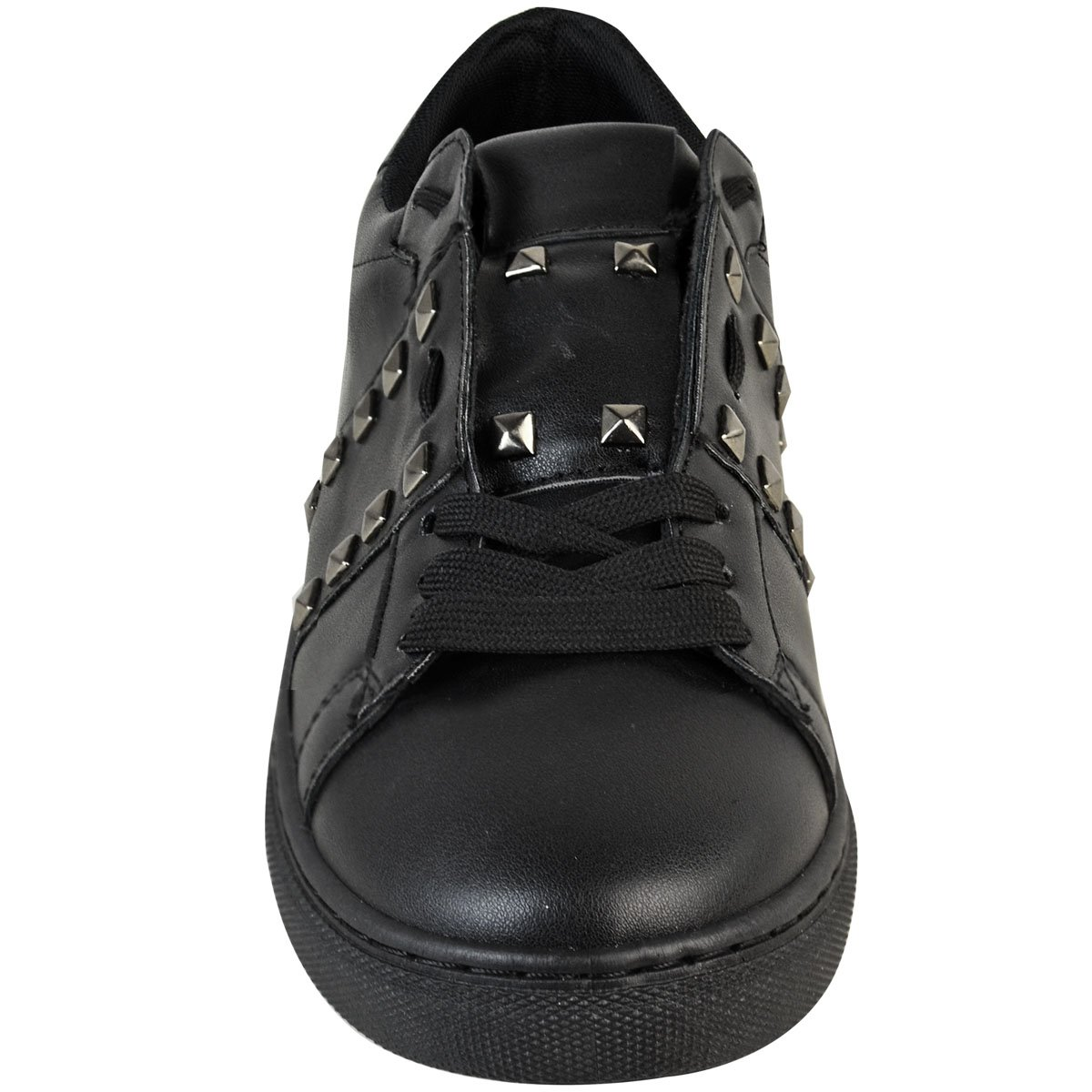 Fashion Thirsty Womens Sneakers Studded Fashion Designer Inspired Rock Size