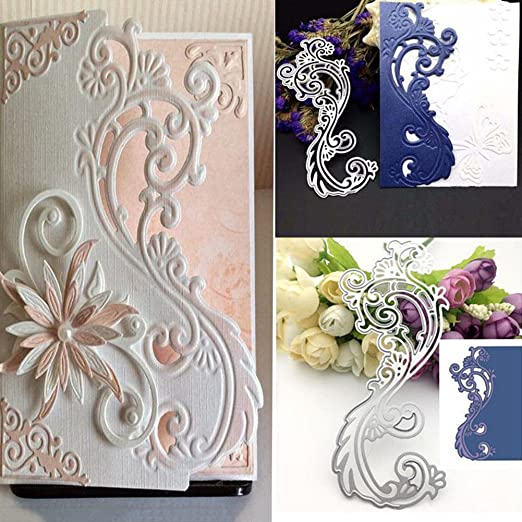 Lovely Bloosom Flowers Cutting Dies Scrapbooking Photo Decor Embossing Making Pr