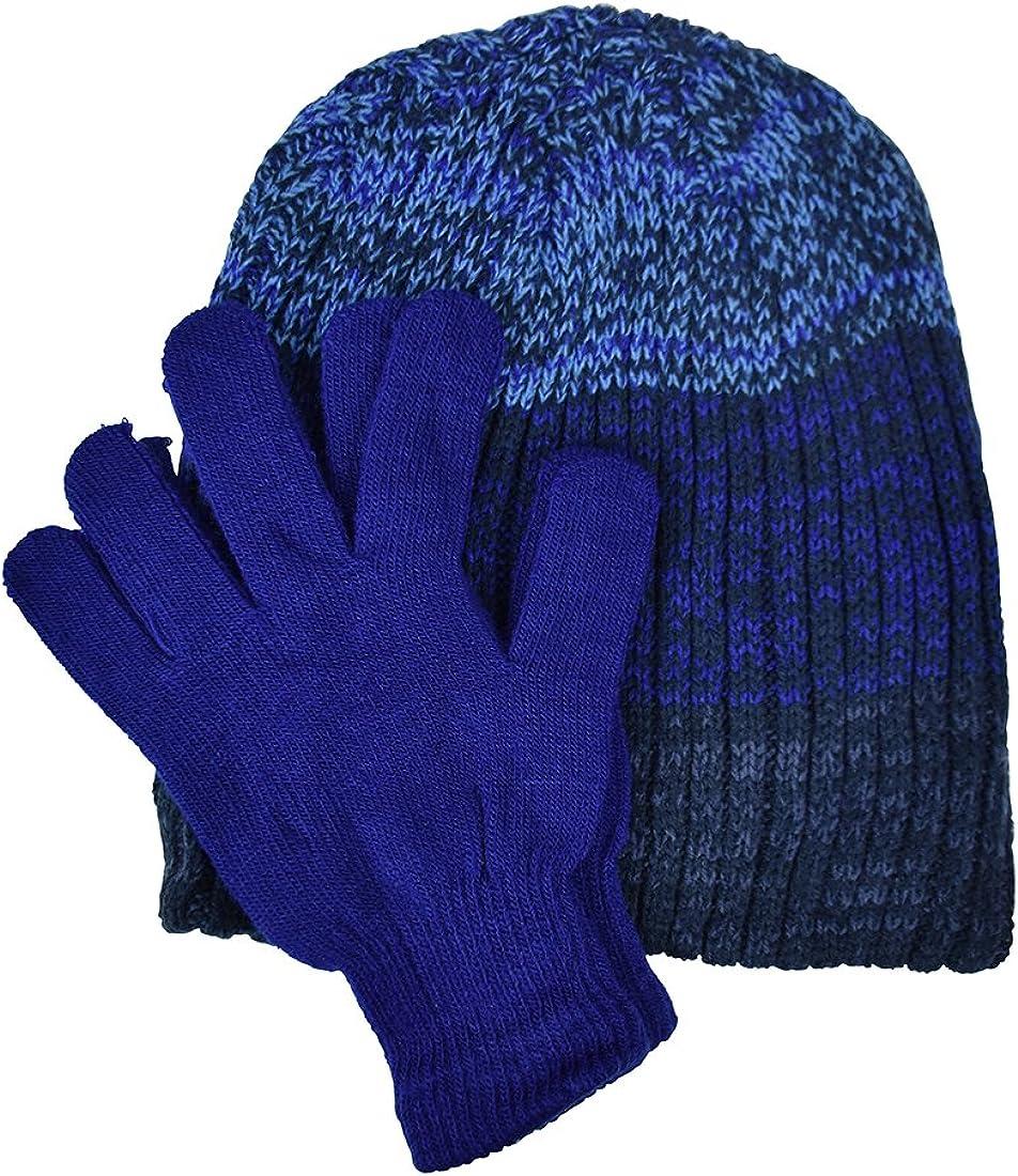 Marled Hat Gloves Set