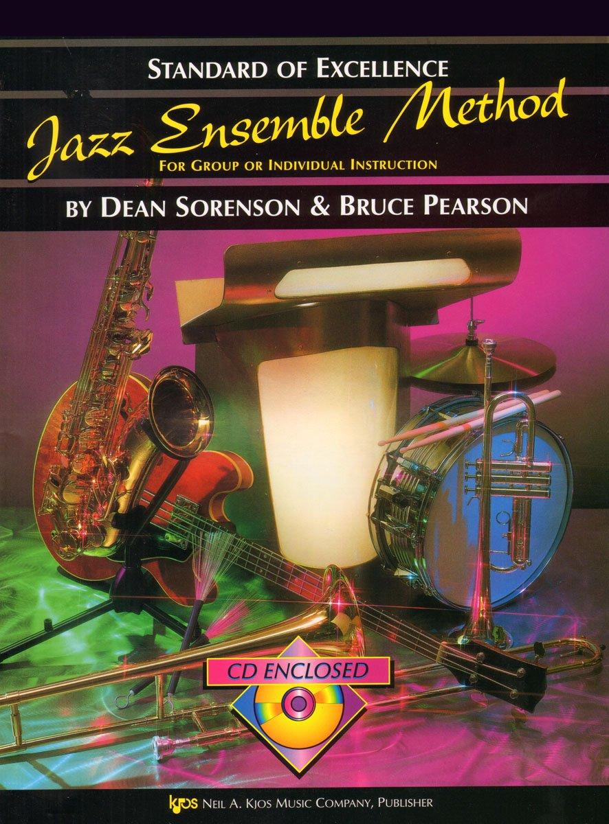 W31TB3 - Standard of Excellence - Jazz Ensemble Method Book/CD - 3rd Trombone