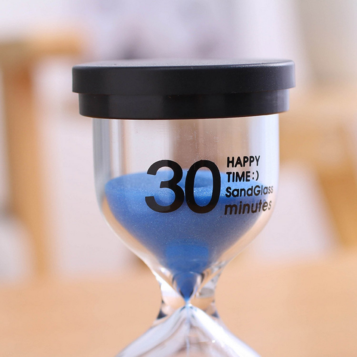 Gosear Hourglasses, Sand Timer 6pcs Hourglass Sand Clock Timer Sandglass 1 3 5 10 15 30mins for Classroom Game Home Office Decoration Random Colors. by Gosear (Image #8)