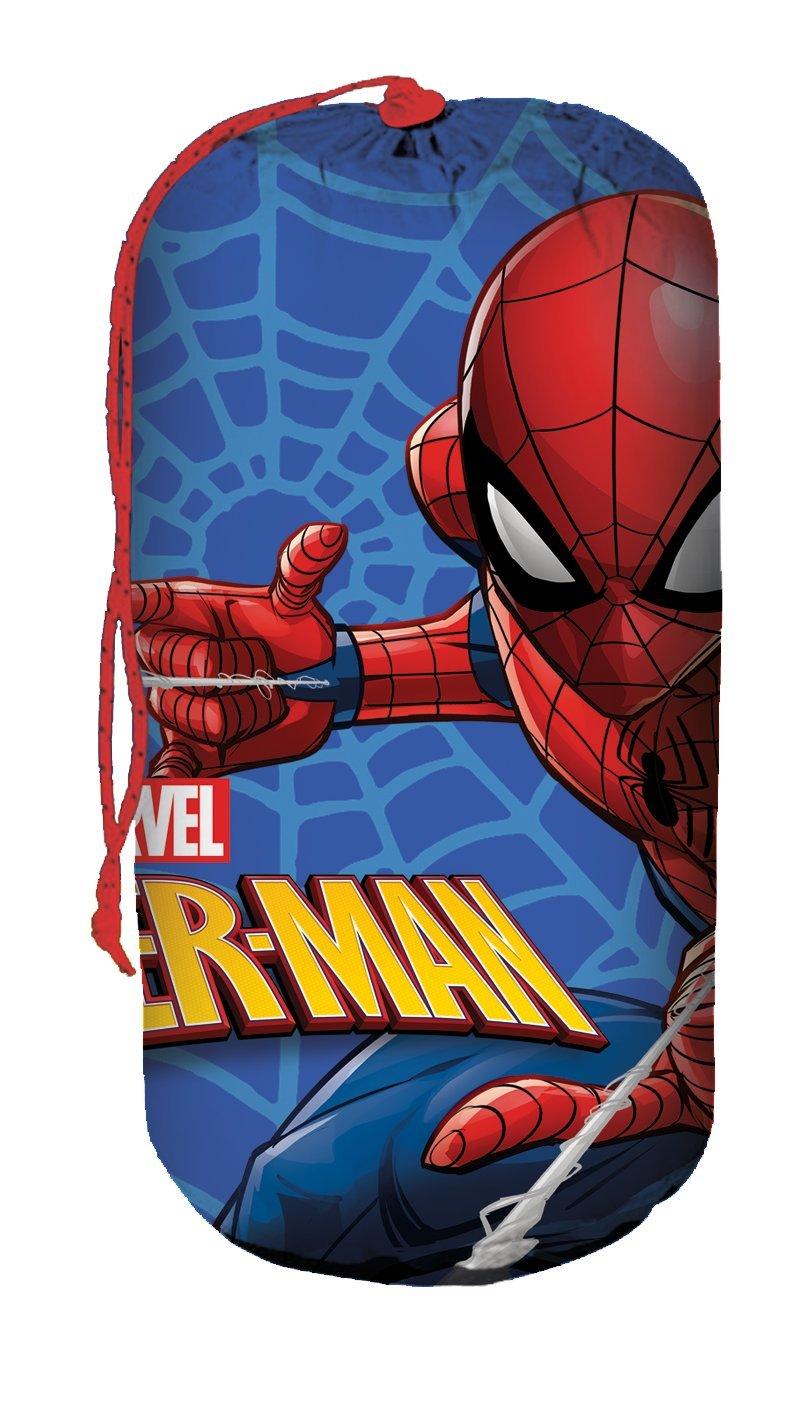 Kids Licensing - Saco de Dormir con diseño de Spiderman - Se Puede Transportar fácilmente - MV15279: Amazon.es: Juguetes y juegos