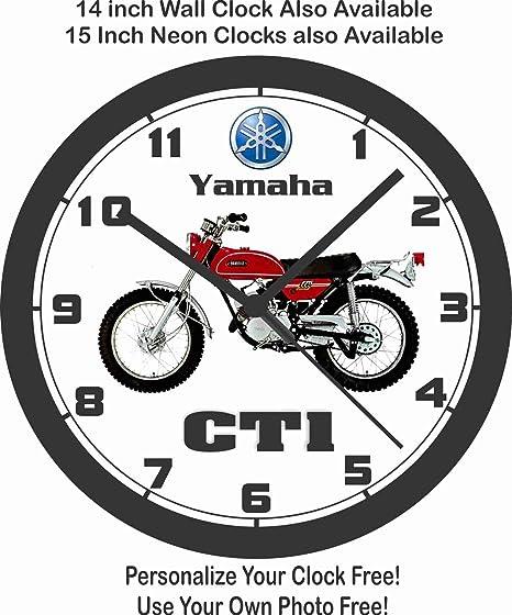 Amazon Com 1969 1970 Yamaha Ct1 175 Motorcycle Wall Clock Home