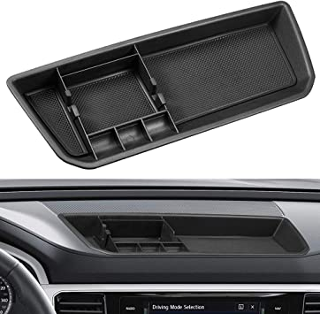 MECHCOS Interior Car Center Console Dashboard Storage Box Organizer Holder Tray Compatible with fit for Volkswagen Atlas 2018 2019