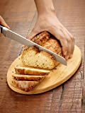 Cartini Bread Knife,Stainless Steel 420 ,Black