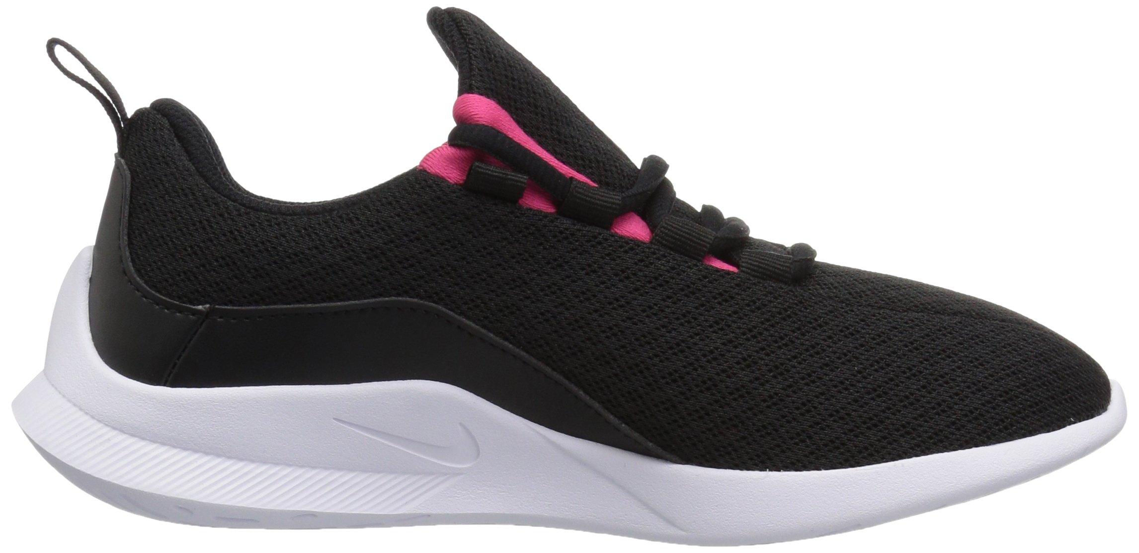 Nike Girls' Viale (GS) Running Shoe, Black/Rush Pink-White, 5Y Youth US Big Kid by Nike (Image #6)