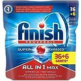 Finish Todo En Uno Max limpiador 36+ 6Tabs normal