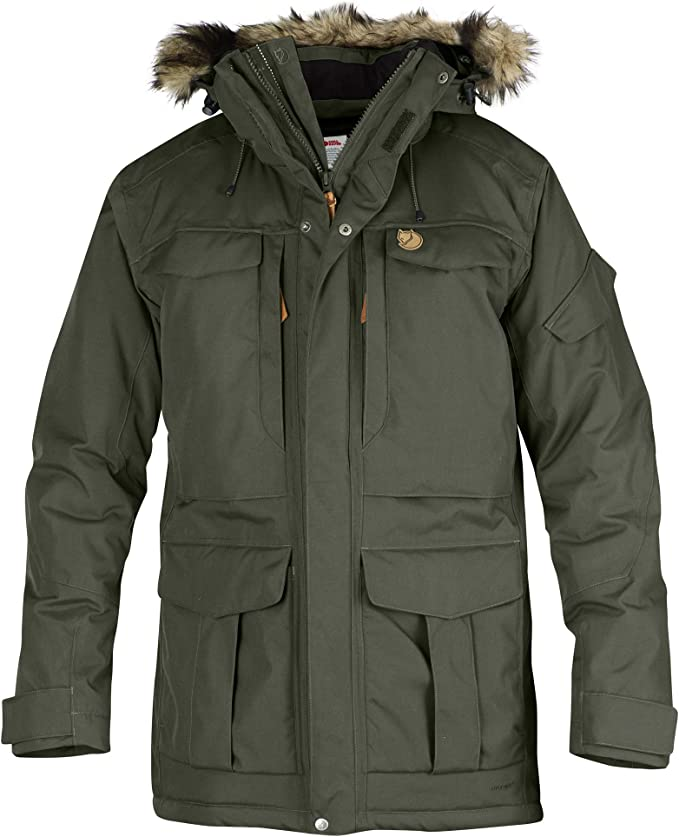 Fjallraven Yupik Parka M Sport Jacket, Hombre, Mountain Grey, XL