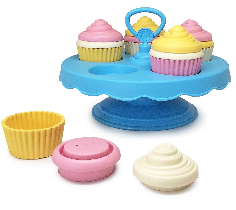 green toys cupcake set toys games