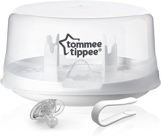 Tommee Tippee Essentials micro-ondes Stérilisateur jusqu/'à 4 bouteilles 4 min Rapide Cycle