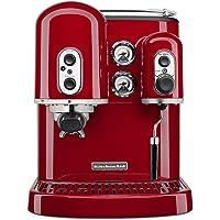 Machine à espresso KitchenAid 5KES2102EER Artisan Onyx, Empire Red.