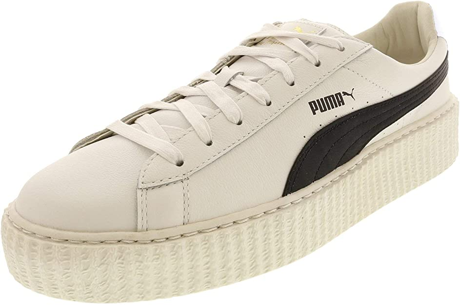 puma by rihanna creeper white leather