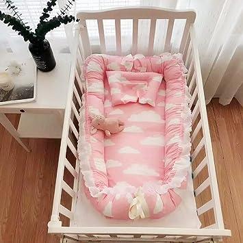 Amazoncom Levinis Cotton Portable Babyinfant Travel Bed Crib