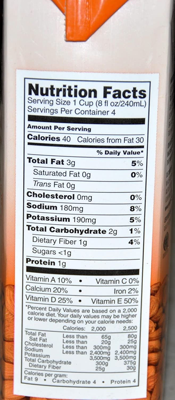 365 Everyday Value Organic Almondmilk - Unsweetened (Pack of 2): Amazon.com: Grocery & Gourmet Food