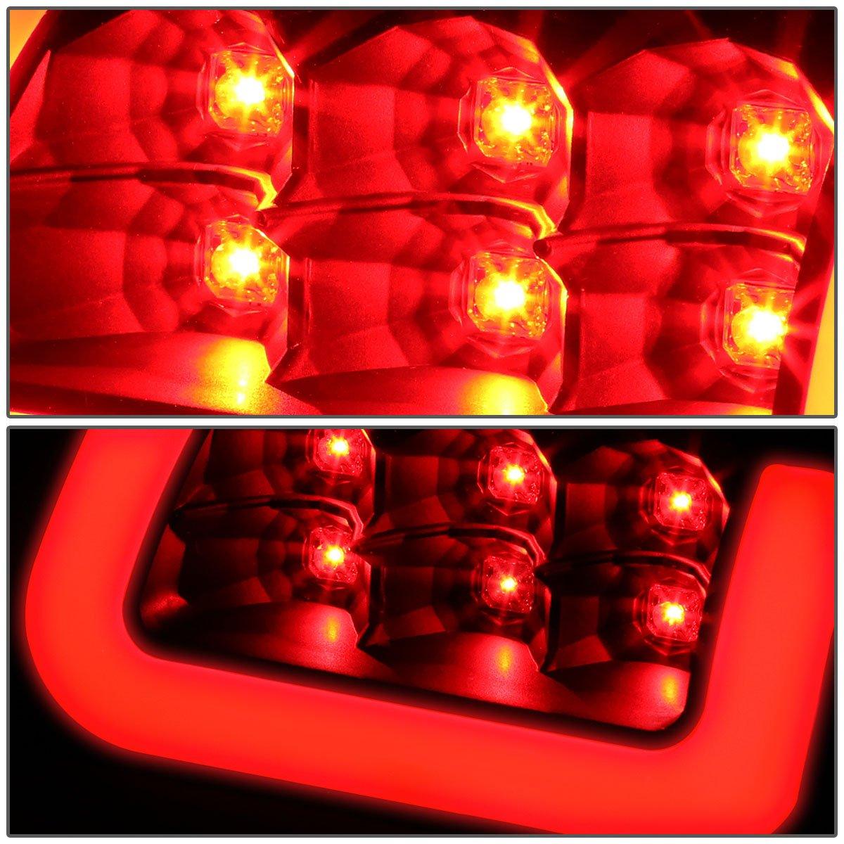 DNA Motoring TL-DRAM94-LED-3D-BK-CL Tail Light Driver /& Passenger Side