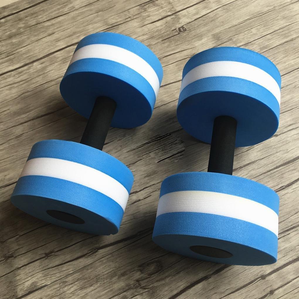 Censhaorme 1 Paire A/érobie Aquatique Halt/ère Aquatique EVA Barbell Aqua Fitness Piscine Yoga Exercice /élastique Accessoires