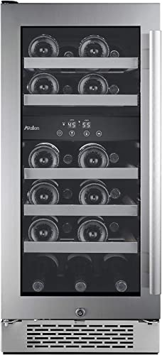 "Avallon-AWC151DZLH-23-Bottle-15""-Dual-Zone-Built-In-Wine-Cooler"