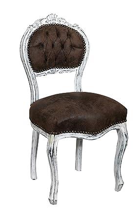 hêtre Louis de bois XVI en Set françaises chaises de 2 wNm08n