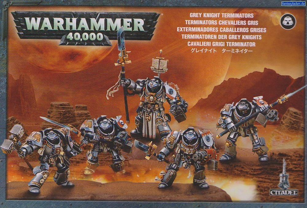 Games Workshop 99120107014'' Grey Knights Paladin Squad Plastic Kit