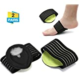 CHARMINER 2 Pairs Compression Fasciitis Cushioned Support Sleeves, Plantar Fasciitis Foot Relief Cushions for Plantar Fasciitis, Fallen Arches, Achy Feet Problems for Men and Women