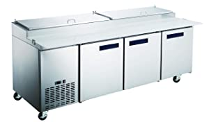 """Commercial Grade Pizza Prep Table by Vortex Refrigeration 
