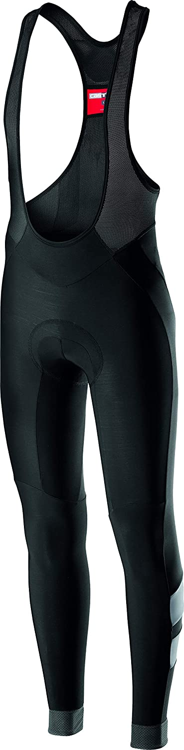 Castelli Men's Velocissimo 4 Long Cycling Bibtight Pants - Lightweight Winter Road Bike Tights : Clothing