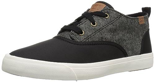 b6e0311433b Keds Women s Triumph MID Nylon   SLUB Tweed Fashion Sneakers  Amazon ...