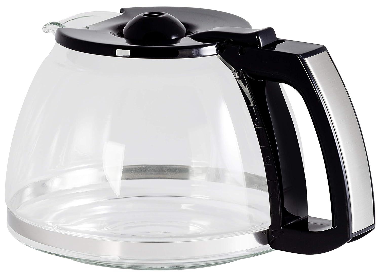 Melitta EasyTop 6690205 - Vaso Cristal para Cafetera, Color Negro ...