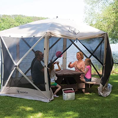 Gazelle G6 8 Person Canopy Gazebo Screen Tent & Wind Panel Accessory (6 Pack) : Garden & Outdoor