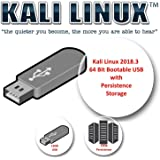 Kali Linux 2018.3 on 16 GB USB with a persistence volume of 12 GB for intrusion tests