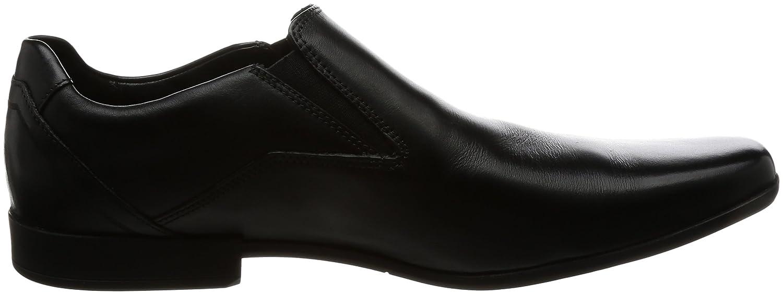 ccfac3442 Clarks Men's Glement Slip Loafers, (Black Leather), 8 UK: Amazon.ae