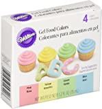 Wilton Plastic Gel Food Colour Set, Multicolour (Pack of 4)