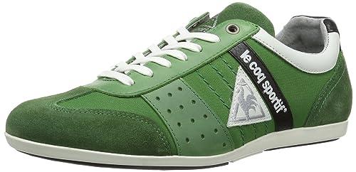 Le coq Sportif Taco Nylon Low, Zapatillas de Estar por casa para Hombre, Verde-Grün (Juniper), 47 EU: Amazon.es: Zapatos y complementos