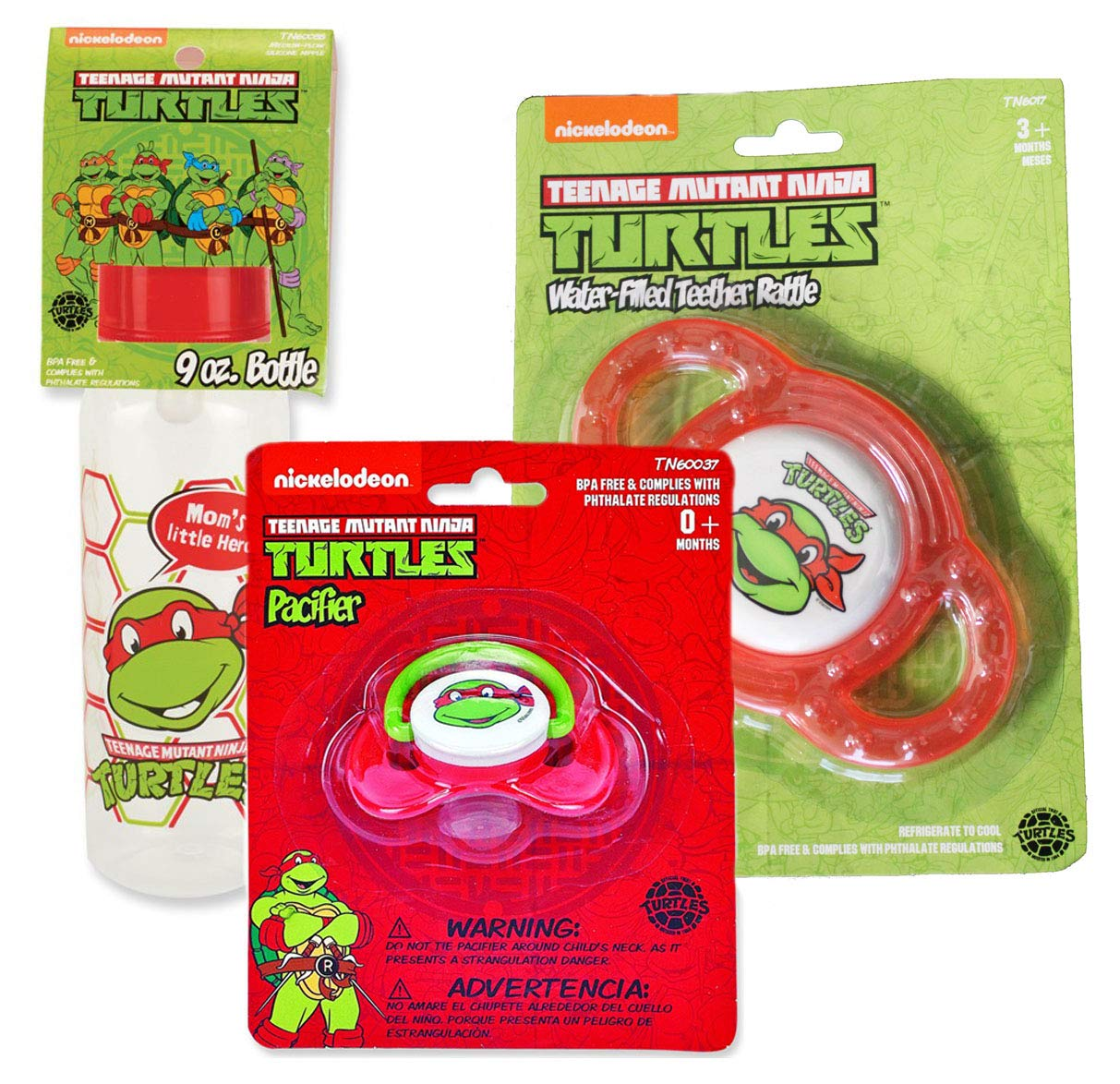 Amazon.com : Teenage Mutant Ninja Turtles Baby Bundle Gift Set ...