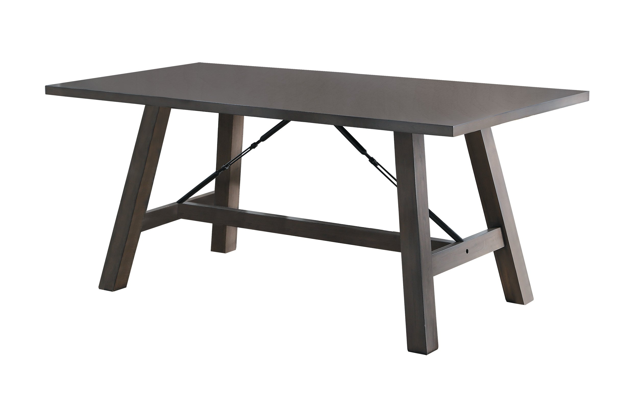 Homelegance Seaford Dining Table Industrial Style, Gray