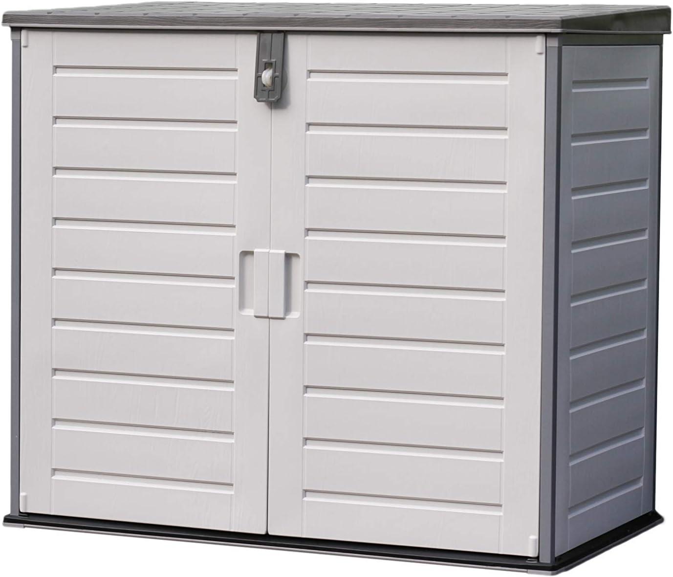 Gardiun NT845 - Arcón Resina Soften con Amortiguadores 845 L 125,5x71x112,5 cm