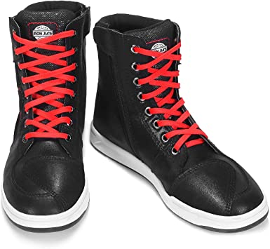 Men's Motorcycle Shoes Breathable Ankle