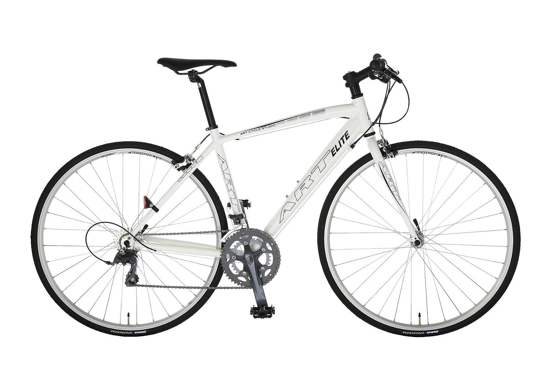 Artcyclestudio(アートサイクルスタジオ) ロードバイク a660f B01BU38CYQ 465mm ホワイト ホワイト 465mm