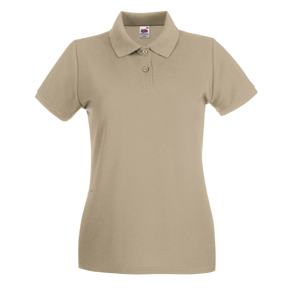 Donna Fruit of the Loom Polo 100/% Cotone