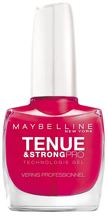 Maybelline MAY VAO T.STRONG PRO BLg 180 Rosy Pink/Rosa Creme esmalte ...