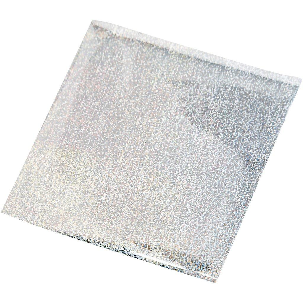 Alluminio per arti creative, foglio 10x10 cm, argento, 30fogli Creativ Company
