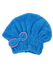 TOOGOO(R)util sombrero de seco pelo de microfiber seco rapido toalla de pelo