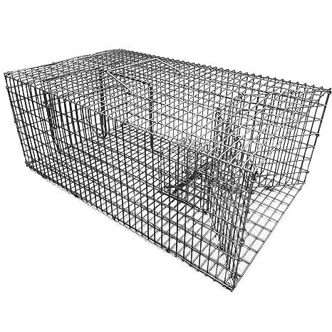 Trampa para capturar animales vivos de 46 cm - Trampa para la captura múltiple de ratas