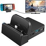Amazon.com: Switch Dock, ikedon Portable TV Docking Station ...