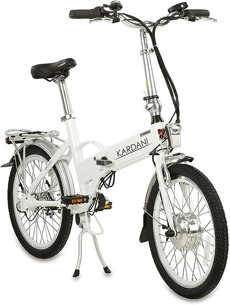 aktivelo Kardani - Bicicleta plegable eléctrica de aluminio (20 ...