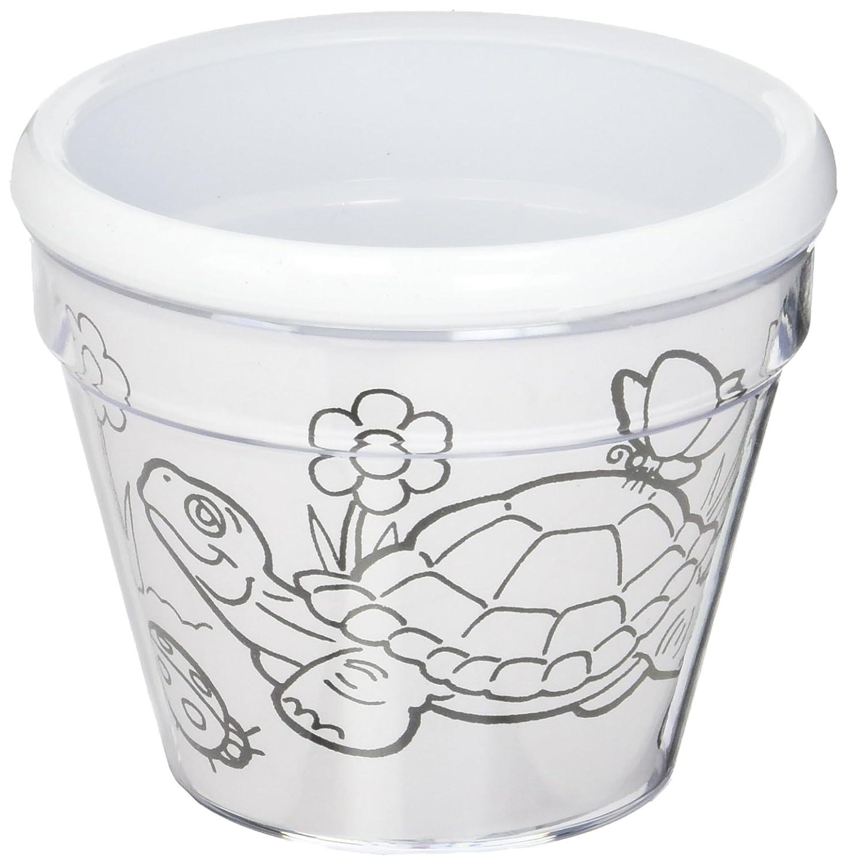 Amazon Bulk Buy Darice Crafts For Kids Design A Flower Pot 6