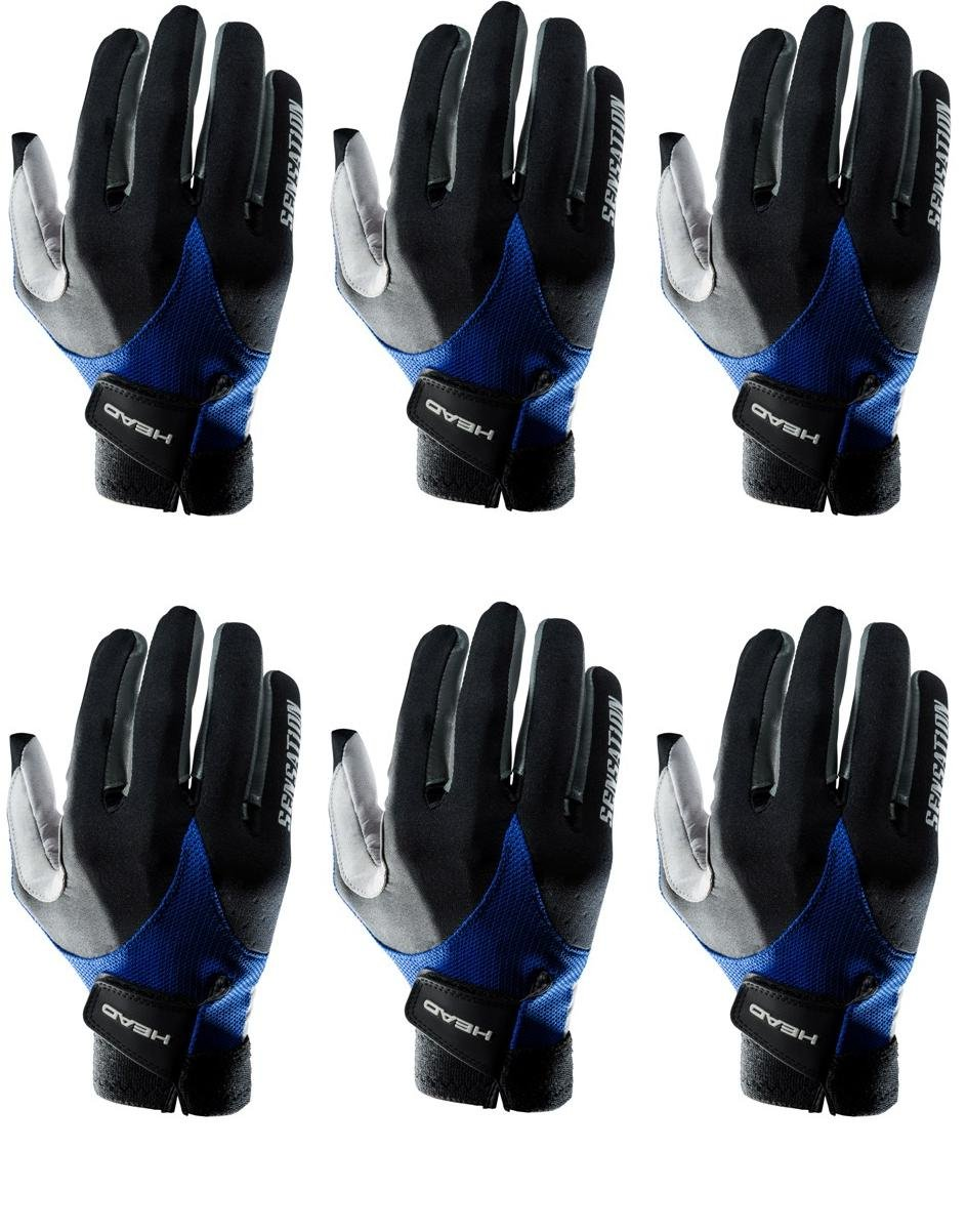 HEAD Six Sensation Racquetball Glove Right Large (six Pack)