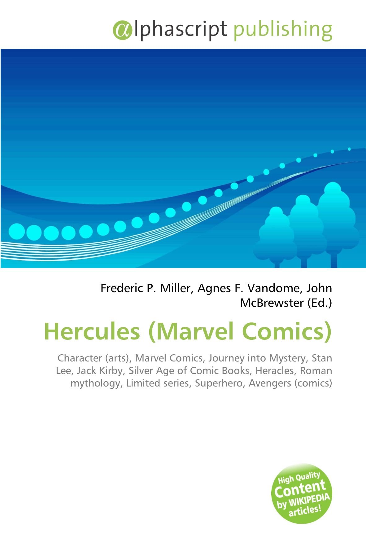 Hercules (Marvel Comics): Amazon.es: Miller, Frederic P, Vandome, Agnes F, McBrewster, John: Libros en idiomas extranjeros