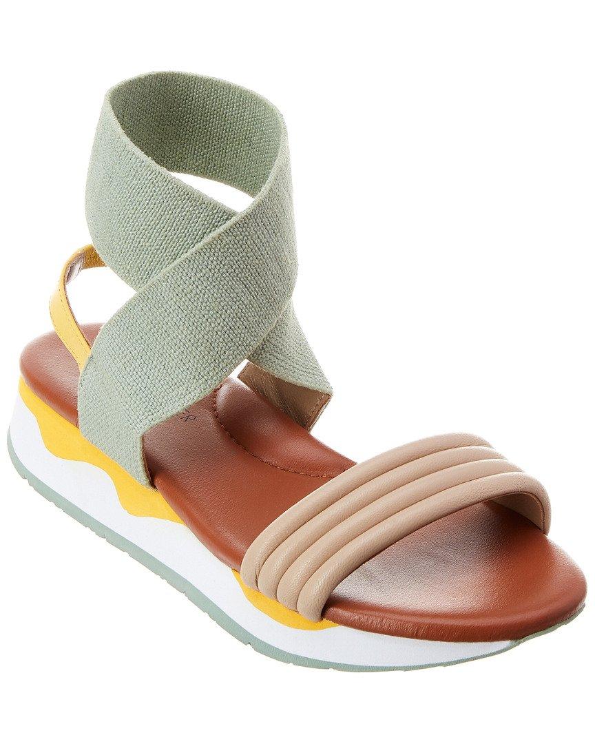 Donald J Pliner Women's Shaye Sport Sandal B079MJ3NBJ 8.5 B(M) US|Almond/Sage/Lemon